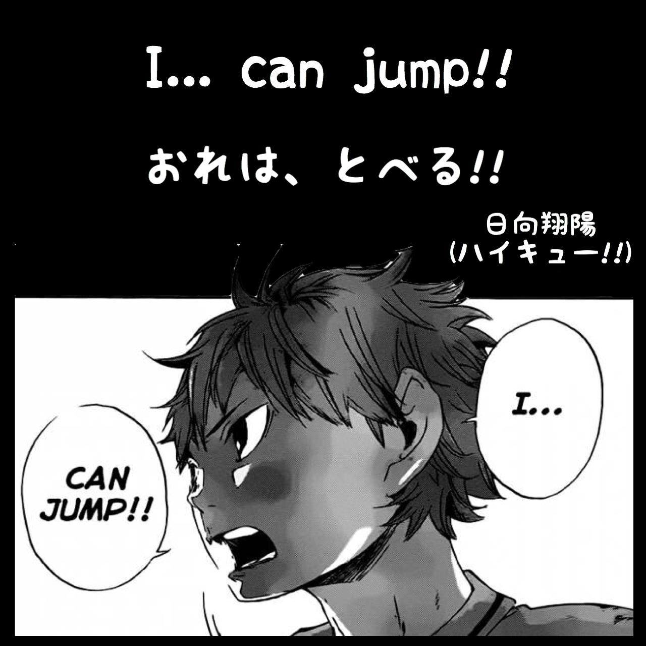 おれは、とべる! / 日向翔陽(ハイキュー!!)